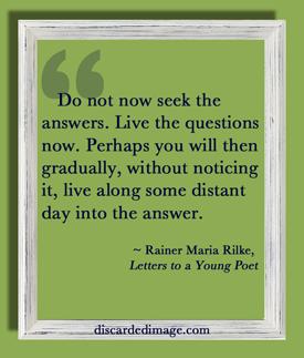 Rilke-Questions