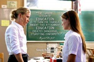 education-conformity