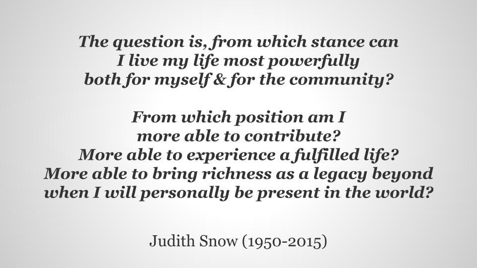 Live powerfully - Snow
