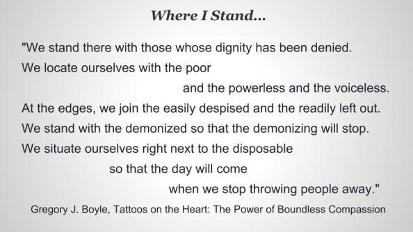 Where I Stand
