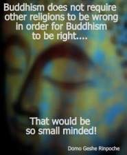 making wrong - small minded
